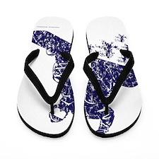 Snow-Boarder Flip Flops