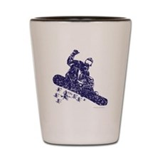 Snow-Boarder Shot Glass