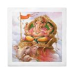 Ganesh On Elephant Queen Duvet
