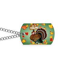 Go Vegan! Thanksgiving-Yardsign Dog Tags
