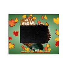Go Vegan! Thanksgiving-Yardsign Picture Frame