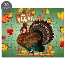Go Vegan! Thanksgiving-Yardsign Puzzle