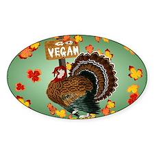 Go Vegan! Thanksgiving-Yardsign Decal