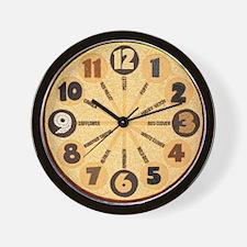 seed_clock_big Wall Clock