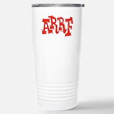 2-arrf_BW_black_shirt_12x12 Travel Mug