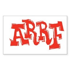 2-arrf_BW_black_shirt_12x12 Decal