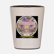 Inaug 44th President Shot Glass