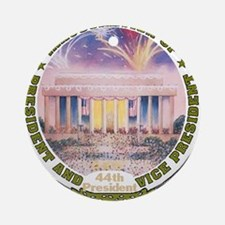 Inaug 44th President Round Ornament