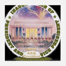 Inaug 44th President Tile Coaster