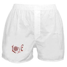 I Love You - Attraction Boxer Shorts