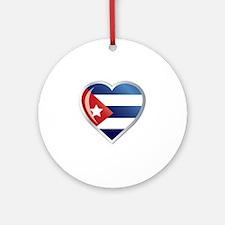C CUBA 0 Round Ornament