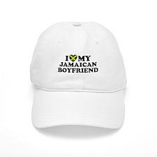 I Love My Jamaican Boyfriend Baseball Cap