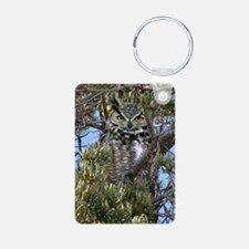 2-Owl 060 Aluminum Photo Keychain