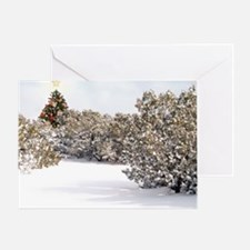2-Magic Chrst Tree Greeting Card