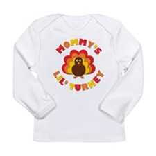 Mommys Lil Turkey Long Sleeve T-Shirt