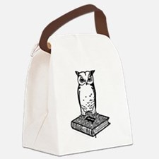 2Bibliophile Logo 2-Tone (dark) Canvas Lunch Bag