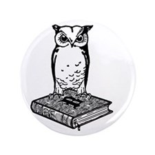 "2Bibliophile Logo 2-Tone (dark) 3.5"" Button"