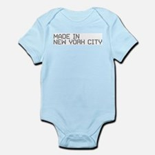 MADE IN NYC Infant Bodysuit