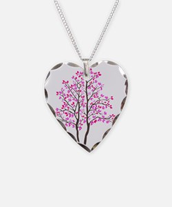 pink_tree Necklace