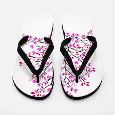pink_tree Flip Flops