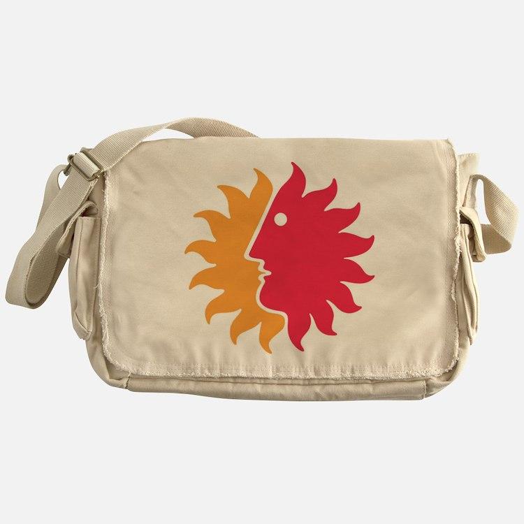Fun to the Sun Messenger Bag