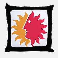 Fun to the Sun Throw Pillow