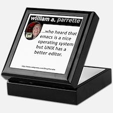 Emacs Keepsake Box