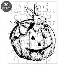 Pumpkin Rabbit Puzzle