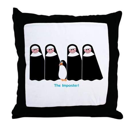 The Imposter Throw Pillow
