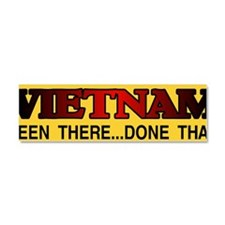 BEEN THERE STICKER Car Magnet 10 x 3