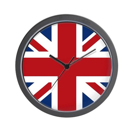 union-jack_sb Wall Clock