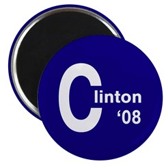 C: Clinton '08 Magnet