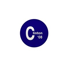 C: Clinton '08 Mini Button (10 pack)