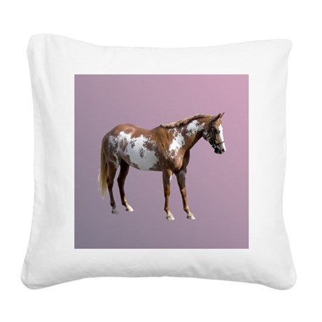 Pinto horse Square Canvas Pillow