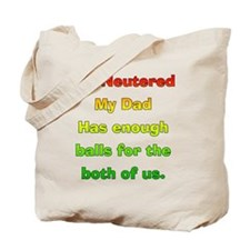 My_Dog_Is_Nutured2 Tote Bag