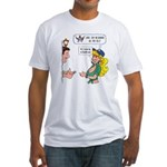 Love Thy Neighbor Fitted T-Shirt