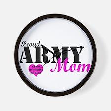 Army Moms Wall Clock