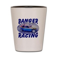 banger racing Shot Glass
