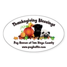 Thanksgiving Blessings Decal