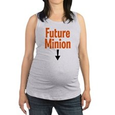 Future Minion Maternity Tank Top
