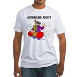 Adrenaline Addict Fitted T-Shirt