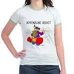 Adrenaline Addict Jr. Ringer T-Shirt