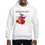 Adrenaline Addict Hooded Sweatshirt