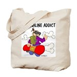 Adrenaline Addict Tote Bag