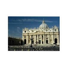St Peters Basilica Rectangle Magnet
