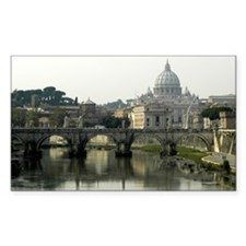 Vatican City Rectangle Decal