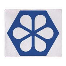 hb-logo-halftop Throw Blanket