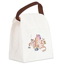 nano2010_octopus_dark Canvas Lunch Bag