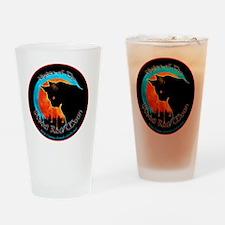 BRMtshirtRoundL Drinking Glass