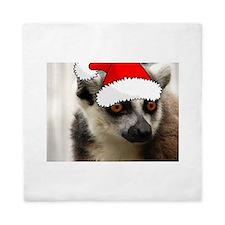 Christmas Lemur Queen Duvet